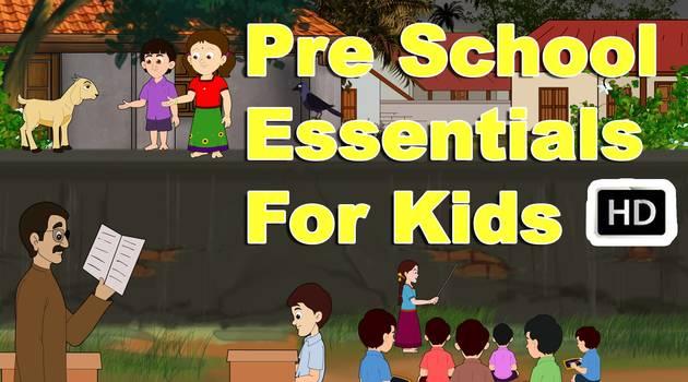 pre-school-essentials-kids